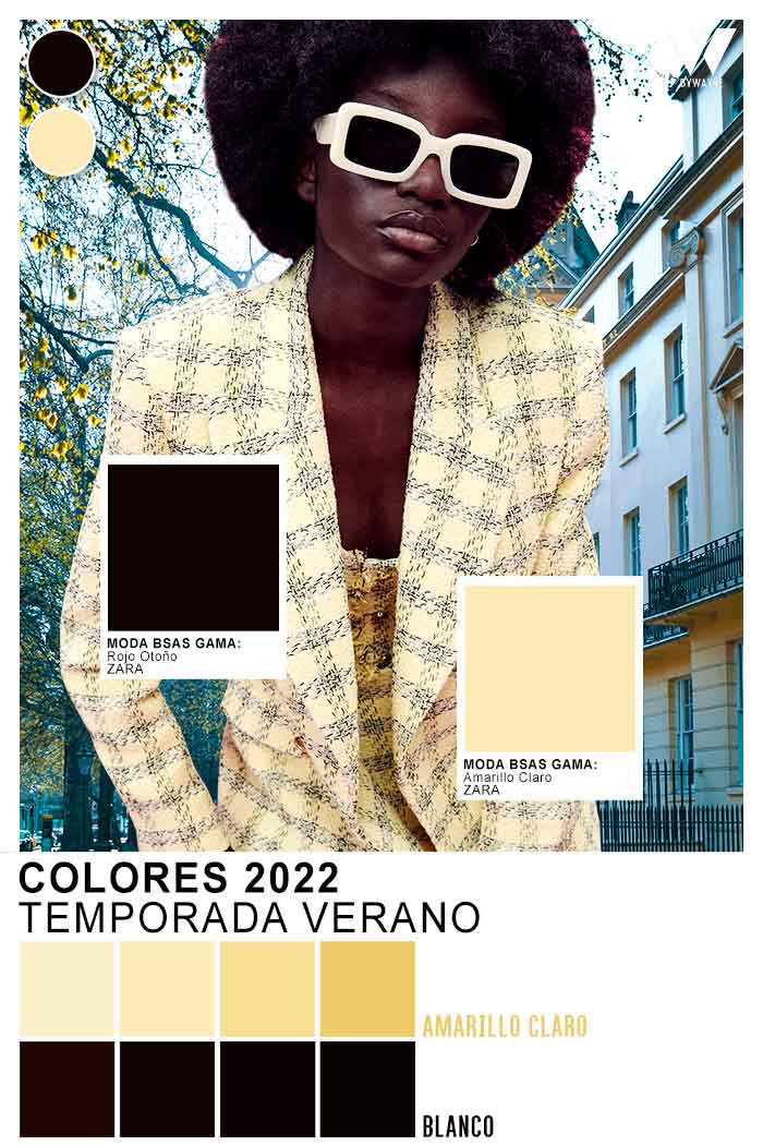 ropa con colores de moda para mujer verano 2022 ZARA