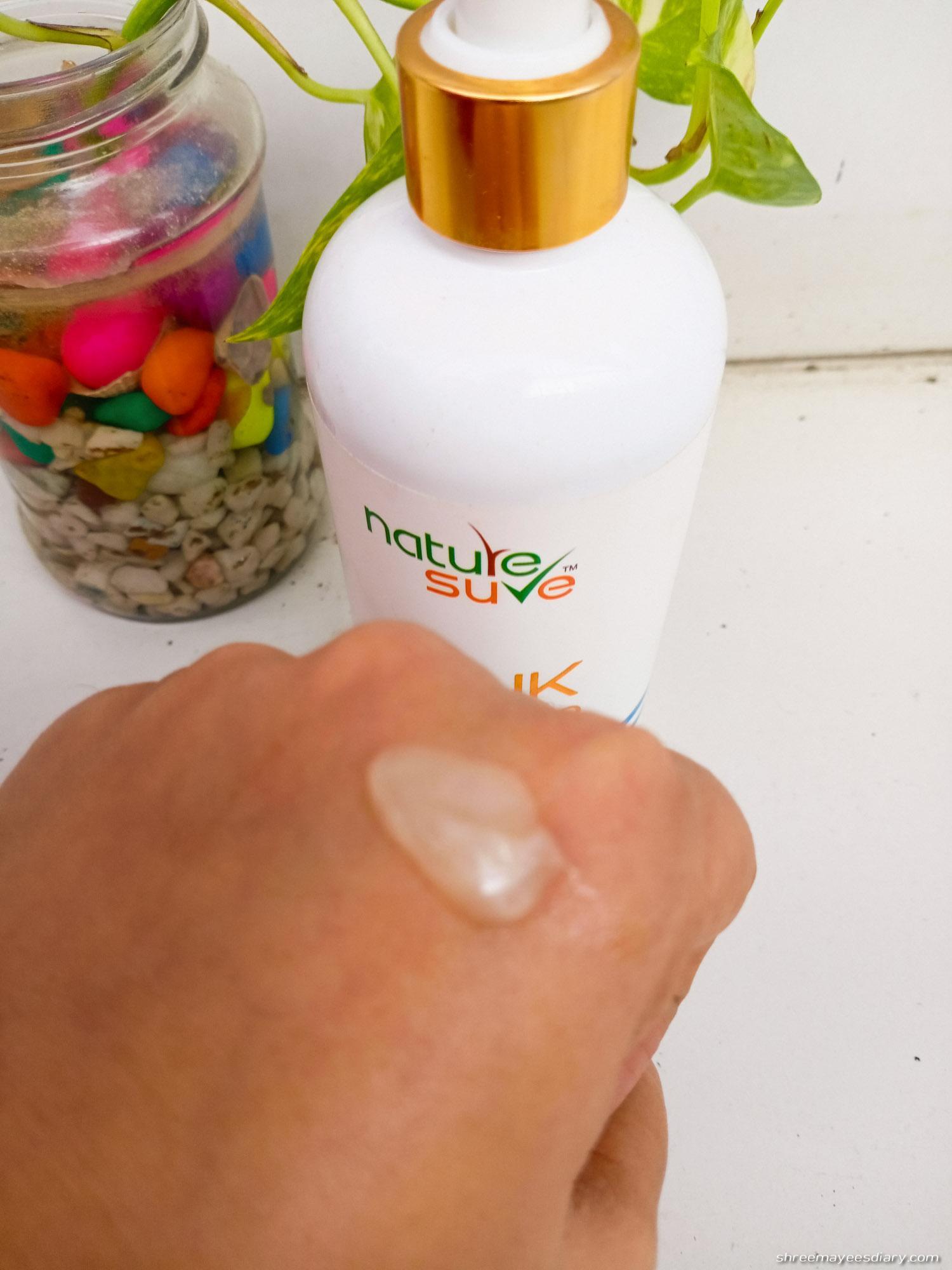 Shampoo, haircare, sulphate-free, anti-hairfall,