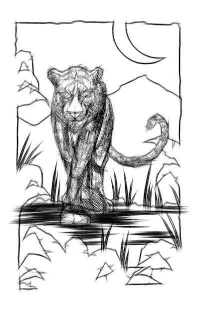 Tiger Pencils - John Prisk