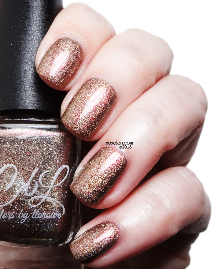 xoxoJen's swatch of Colors By Llarowe Locked Out Of Heaven
