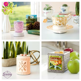 Need Scentsy? Beautiful warmers and luscious, long-lasting wax~