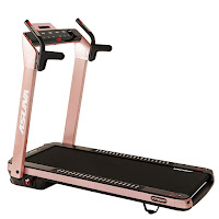 Sunny Health & Fitness Asuna SpaceFlex 7750P Electric Treadmill (Pink), features reviewed, home treadmill with slim-folding deck