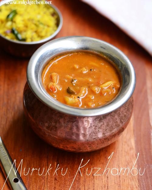 Murukku Kuzhambu recipe - Raks Kitchen