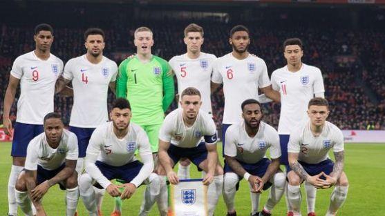 Daftar Pemain Timnas Inggris Piala Dunia 2018