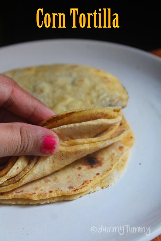 Homemade Corn Tortilla Recipe - How to Make Corn Tortilla at Home ...