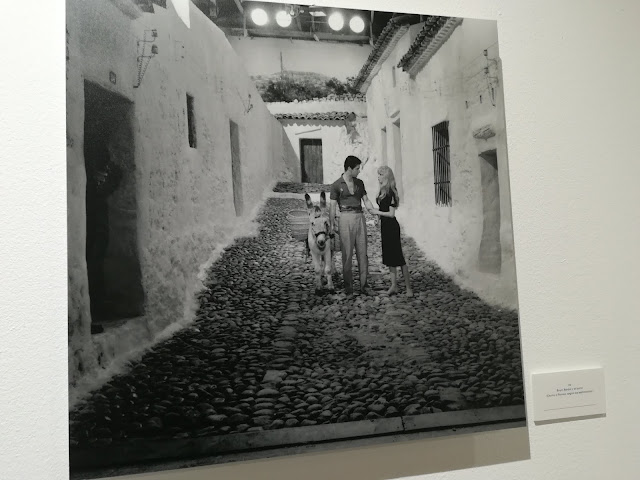 Brigitte Bardot con un burrito en Mijas