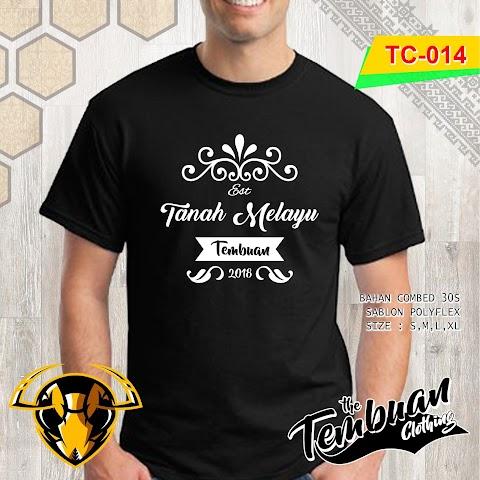 Tembuan Clothing - TC-014 (Tanah Melayu)