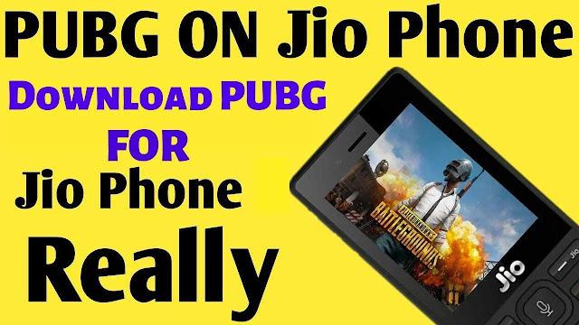 PUBG Mobile On Jio Phone