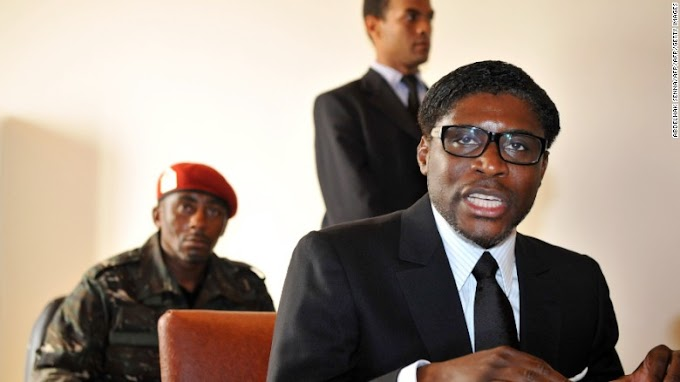 UK sanctions Equatorial Guinea leader's son over 'lavish lifestyle,' spending on luxury mansions, private jets and a $275,000 glove worn by Michael Jackson