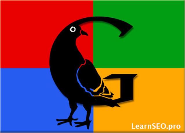 pigeon update google