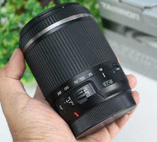 Jual Tamron 18-200mm VC for canon