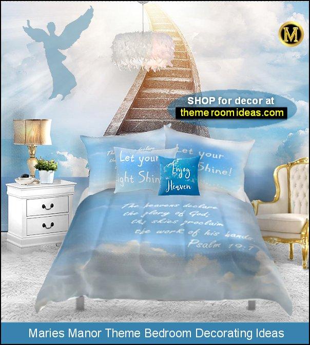 stairway to heaven mural angel bedroom decor angel bedroom decorating