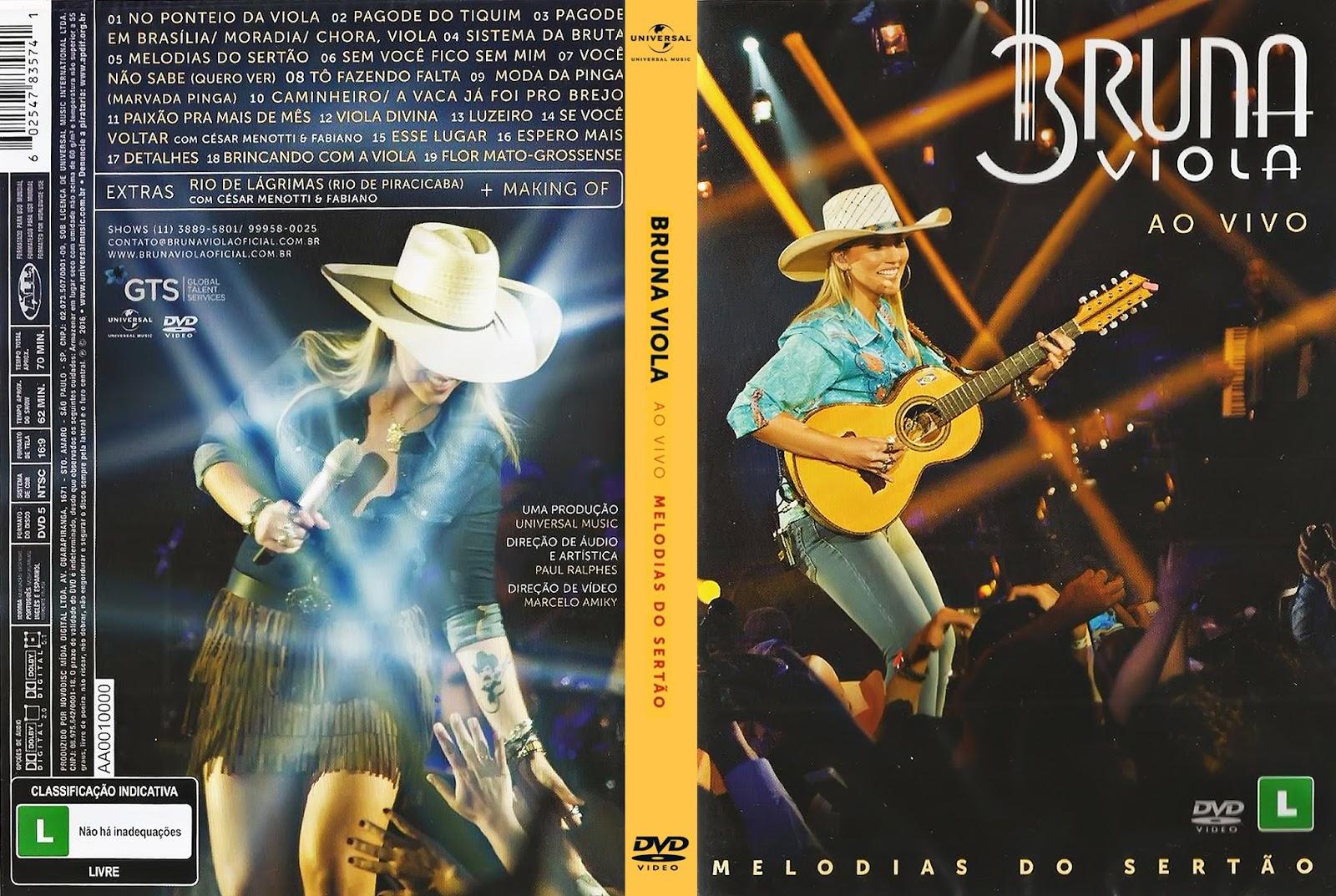 Bruna Viola Melodias do Sertão Ao Vivo DVD-R Bruna 2BViola 2B  2BMelodias 2BDo 2BSert 25C3 25A3o