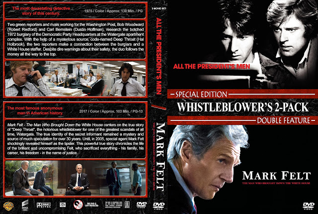 All the President's Men / Mark Felt Double Feature DVD Cover