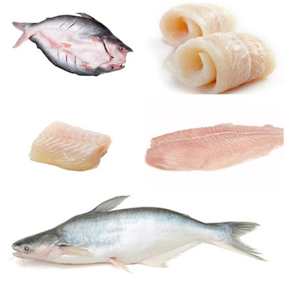 Diversified pangasius products