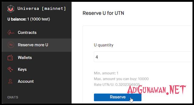 membeli U Token menggunakan UTN