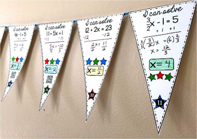 solving 2-step equations math pennant