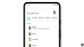 Family Plan Of Google One