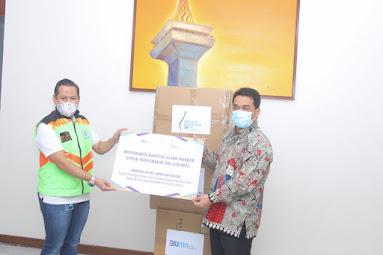 Pemprov DKI Jakarta Terima Bantuan 45 Ribu Unit Masker dari BUMD