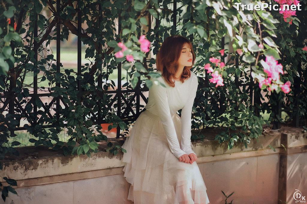 Image Vietnamese Beautiful Model - Bougainvillea Flowering Season - TruePic.net - Picture-3