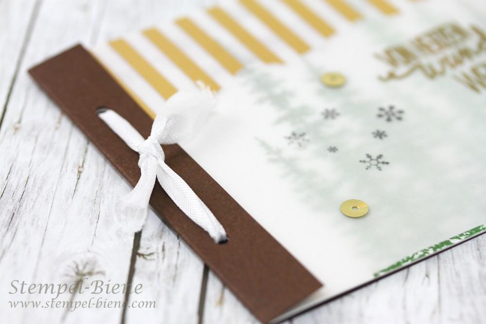 stempel biene weihnachtskarte mit stampin 39 up wonderland. Black Bedroom Furniture Sets. Home Design Ideas