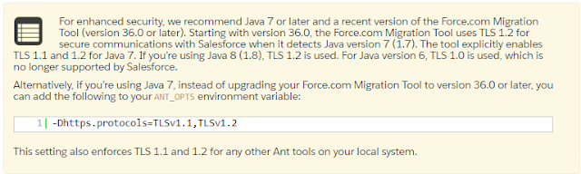 Migration using ANT in Salesforce