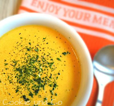 Kartoffel-Möhren-Cremesuppe
