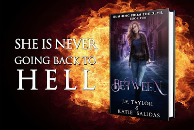 Between by J.E. Taylor and Katie Salidas