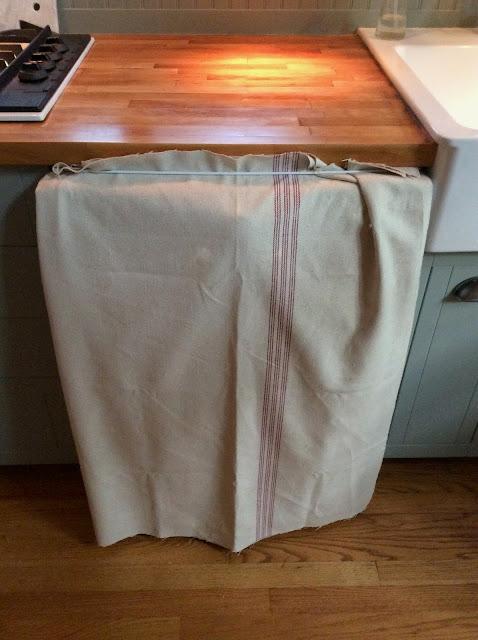 making a hemp curtain
