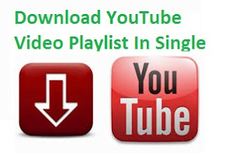 How to download YouTube video play list