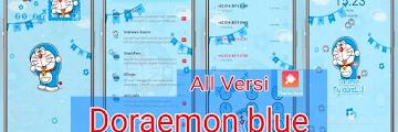 Tema Doraemon OPPO Tembus Akar All Versi