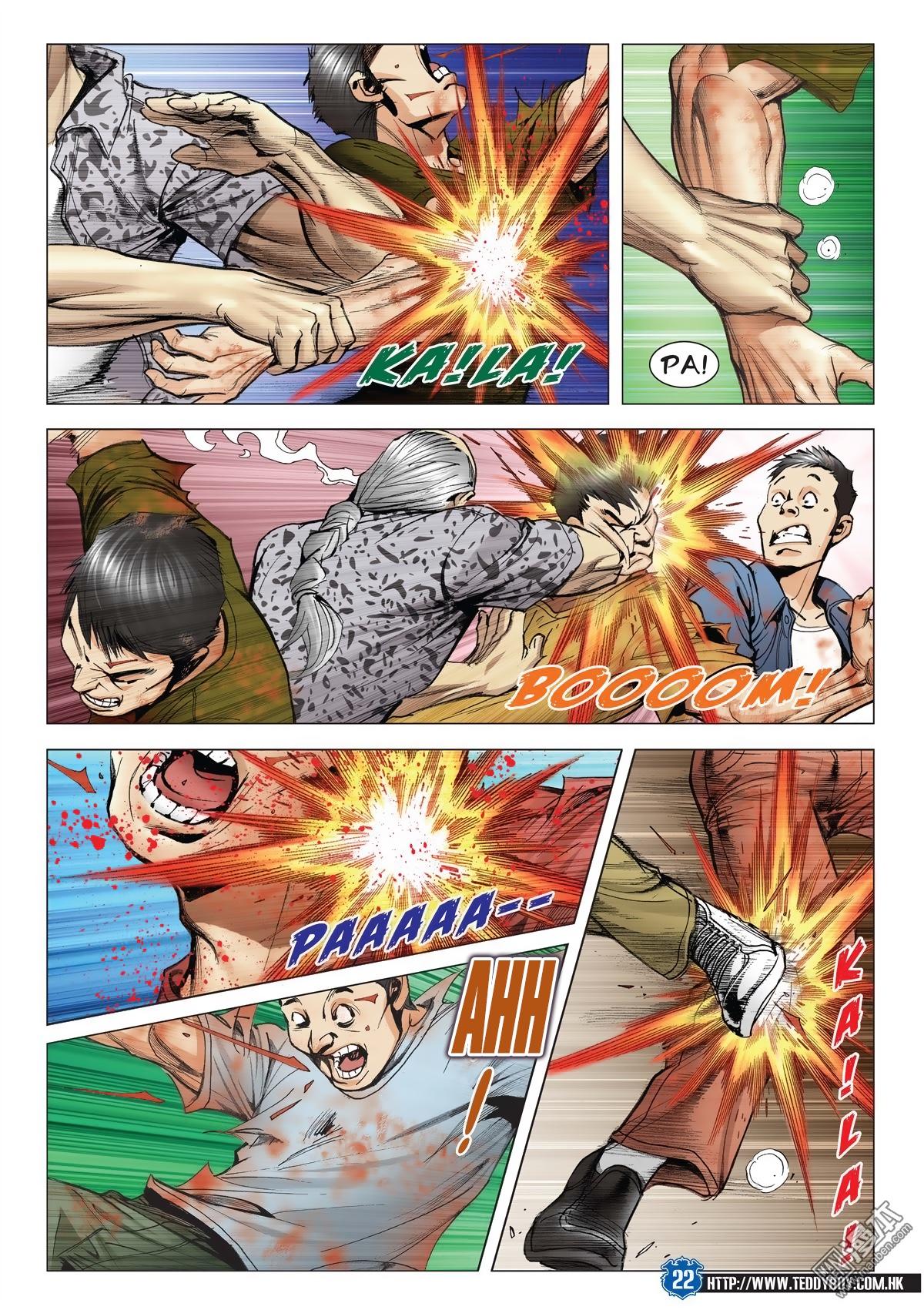 Người Trong Giang Hồ chapter 2026: khí diệm tông sư trang 21