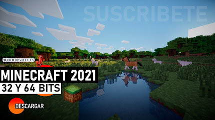 Como DESCARGAR MINECRAFT Ultima Version 2021, 32 y 64 BITS