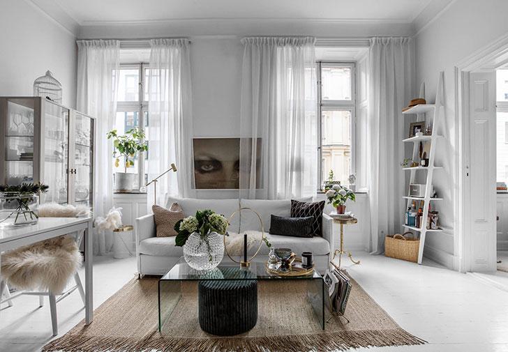 Upplandsgatan 48, Elegant and girly Swedish apartment - Home ...