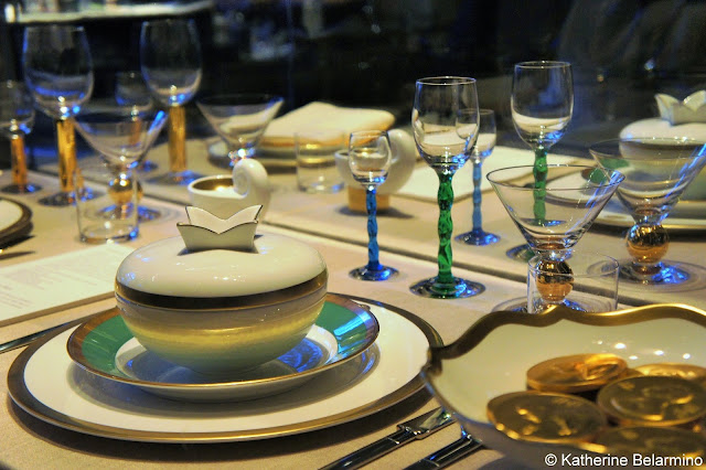 Nobel Banquet Place Settings Things to Do in Stockholm Sweden