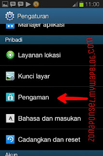 Instal game Android