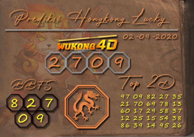 Prediksi Togel HONGKONG LUCKY 7 WUKONG4D 02 SEPTEMBER 2020