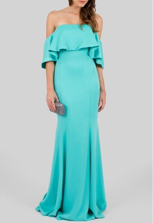 Vestido azul tiffany sereia