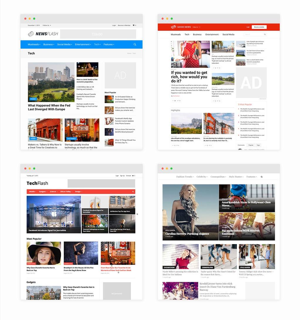 GoodNews  Blog And  Magazine WordPress Theme