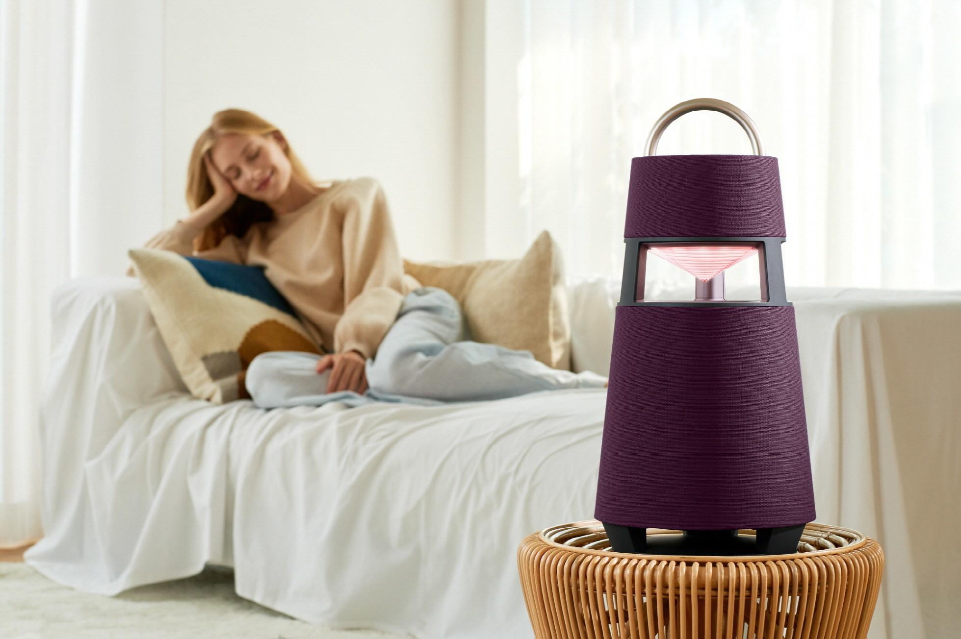 LG Announces US Debut Of XBOOM 360 Omnidirectional Premium Bluetooth Speaker