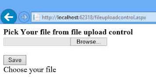 Example of file upload control in asp.net
