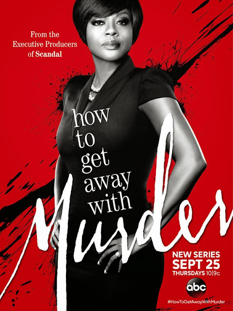 poster série How to Get Away with Murder