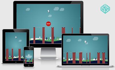 Share Template Game Stick Hero Phiên Bản Noel Cực Chất