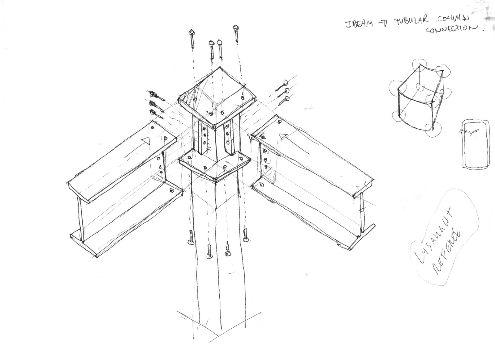 architectural design 510 project 3 development week 13 Types of Drafting Paper finding that this will need many nuts and bolts i think it is justifiable to propose that my design can be welded it can be an assembly of welded rhs and