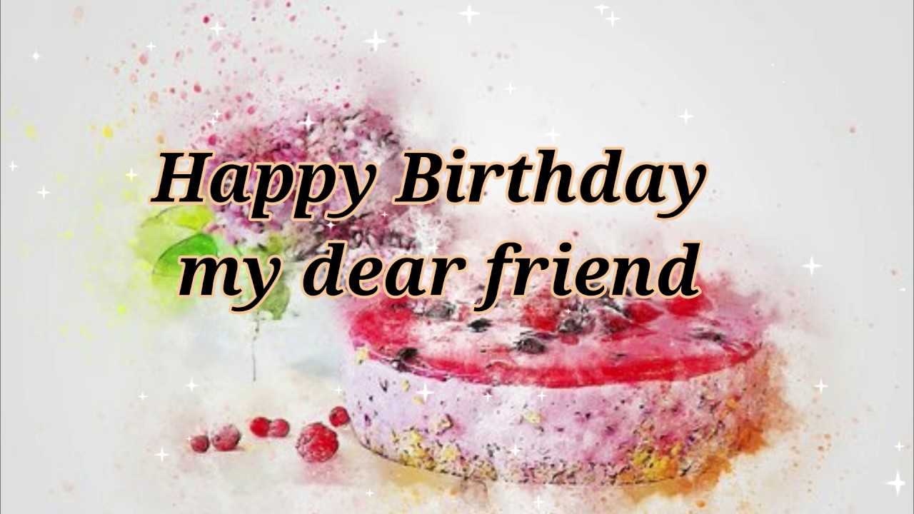happy birthday wishes message for friend