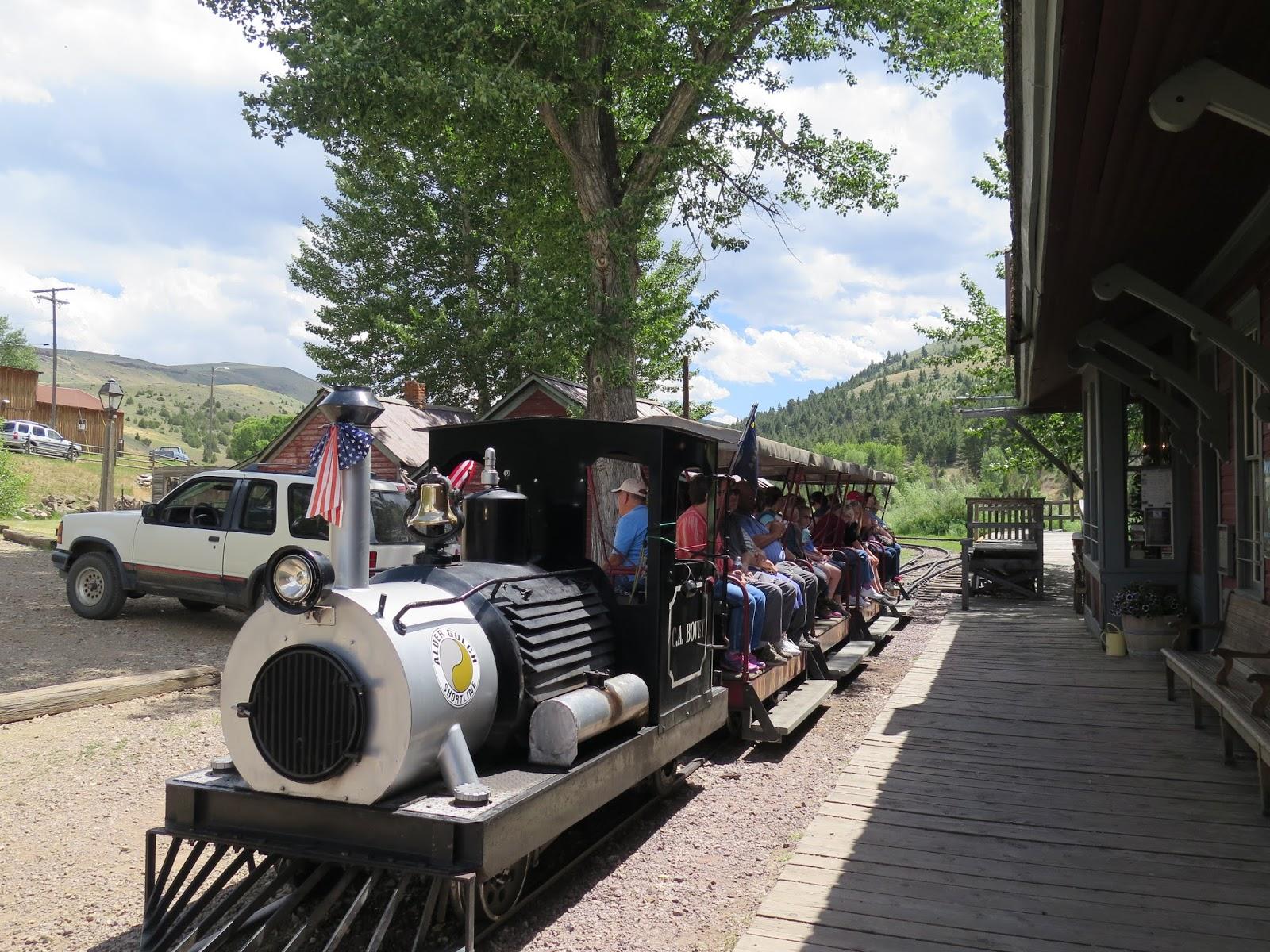Virginia City Mt Train Tour
