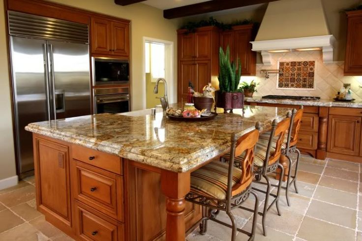 Tanami Granite Kitchen Countertop Ideas