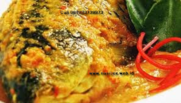 Resep bawal bumbu kuning nasi box cimanggu ciwidey