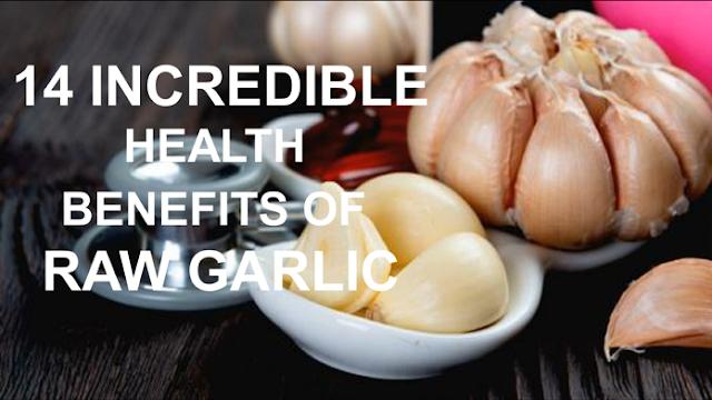 HEALTH BENEFITS OF RAW GARLIC