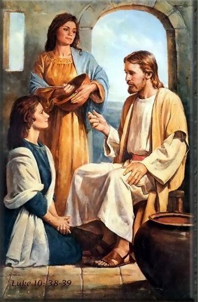 Resultado de imagen de JESUS Y SUS HERMANAS